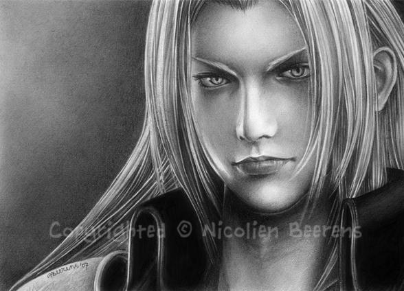 Sephiroth - Mako Glare by Cataclysm-X