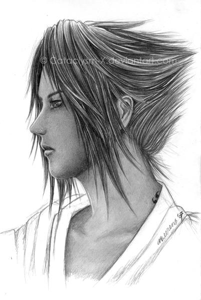 Naruto uchiha sasuke by cataclysm x