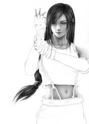 FF - Martial Artist WIP2 by Cataclysm-X