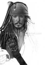 Jack Sparrow - Last WIP by Cataclysm-X