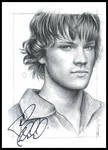 Jared's signed drawing