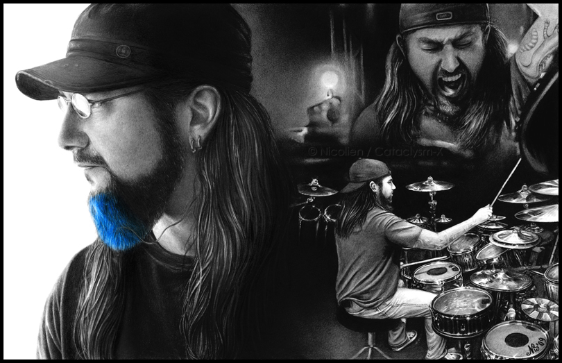 Serenity - Mike Portnoy by Cataclysm-X