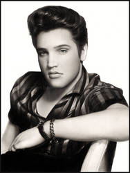 Elvis Presley by Cataclysm-X