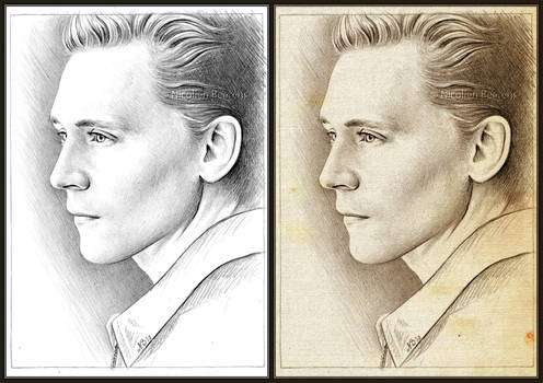 Tom Hiddleston sketch