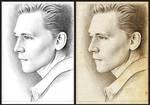 Tom Hiddleston sketch