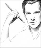 Benedict Cumberbatch - Drawn to You by Cataclysm-X
