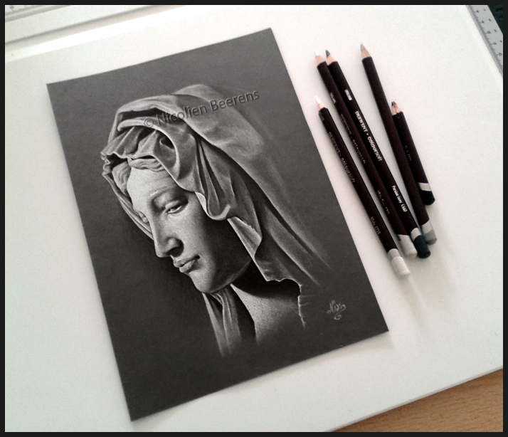 Lady Madonna (Pencil drawing)