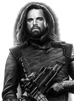 BUCKY BARNES - pencil drawing by Cataclysm-X