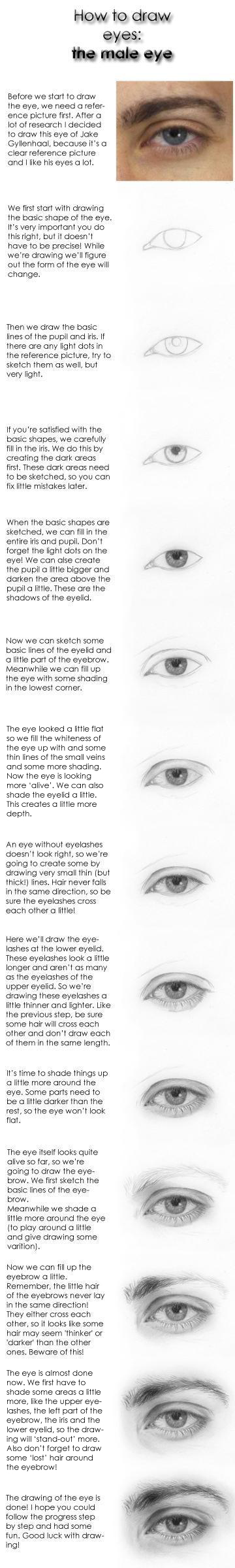 Tutorial: how to draw eyes
