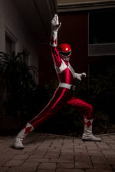 Red Ranger Ready! - Mighty Morphin Power Rangers by DosikLens