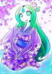 PkmnFH - Lilac Kimono