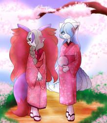PkmnFH - Fantasy Event 12 - Blossom Foxes