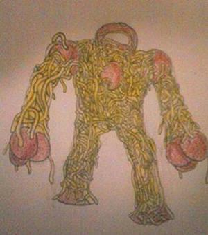 Spaghetti Golem