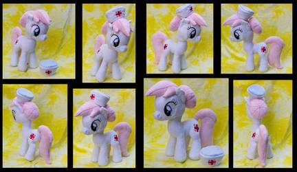 Sold - 15 Inch Nurse Redheart Custom Plush by tsand106