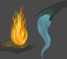 Of Water and Flame by the-rose-of-tralee