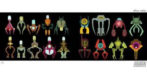 Aliens Robots 1