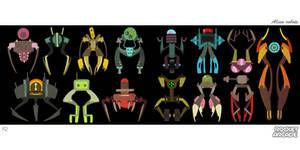 Aliens Robots 2