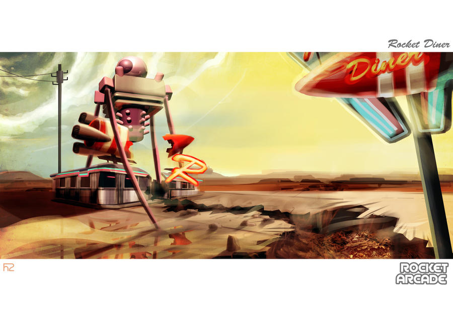 Rocket Diner boss by hision