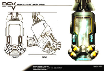 Cryo Tube concept by hision
