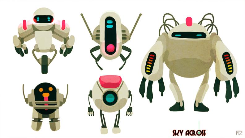Police Alien Robots or PAR by hision