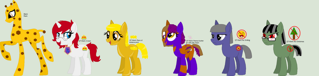 MLP 100 Pony Theme Adoptables  37-42  Open by animelover276