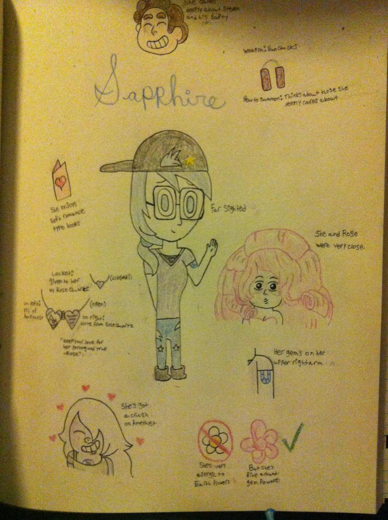 Sapphire's Reference Sheet by animelover276
