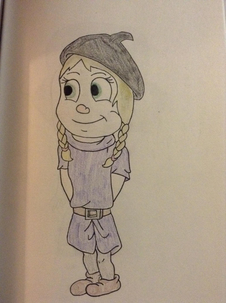 Artsy (Snow White and The 7 Dwarfs Style) by animelover276