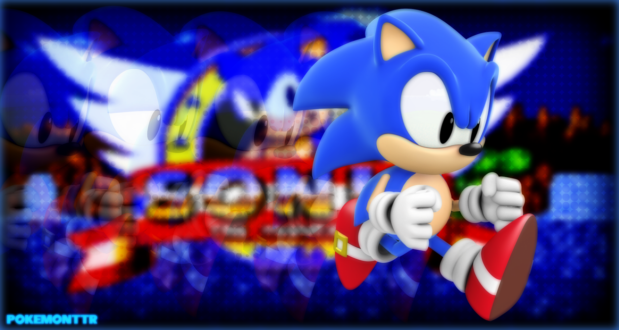 Classic Sonic Wallpaper By SweetStarryGalaxies