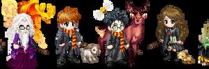 Harry Potter Gaia Avatars by The-Original-Moo-DOg