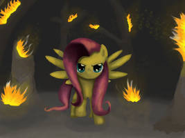 Fluttershy Finished by Chiami
