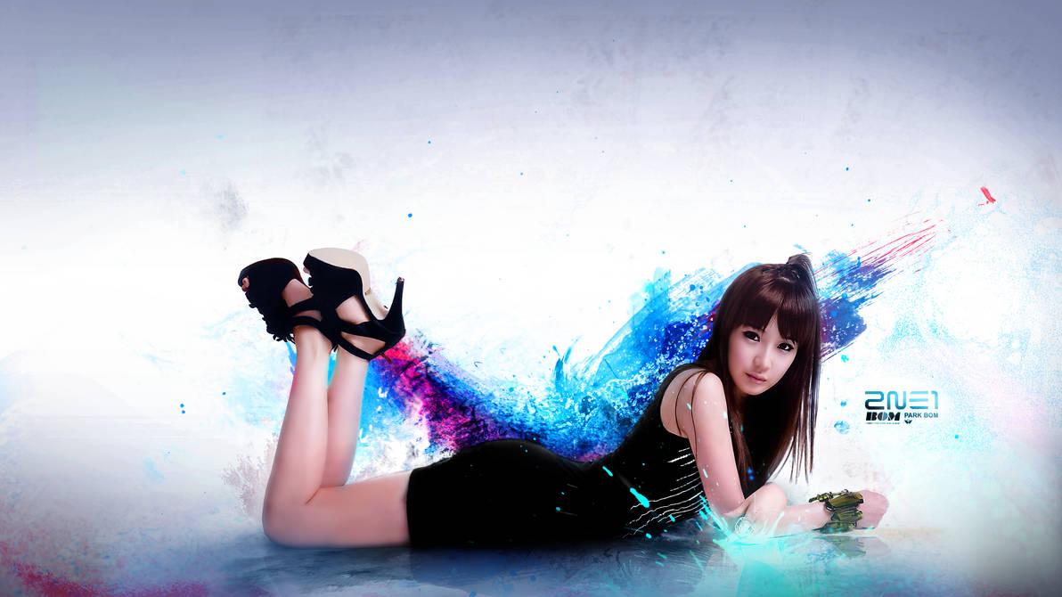2NE1 Park Bom WP 18 by udooboo