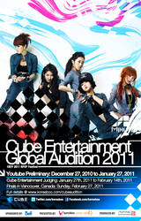 Cube Global Audition 2011