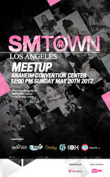 SMTOWN Meetup poster