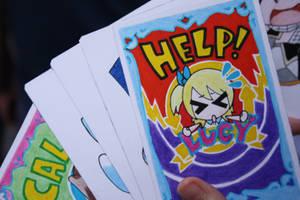 Cana Alberona cosplay cards