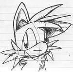 Ink Sketch- Tails Prower