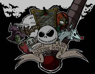 NIGHTMARE BEFORE X-MAS by Dexere