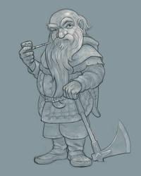 The Hobbit: Dwalin 2 by Cloverfish