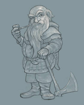 The Hobbit: Dwalin 2