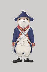 Patriot Mouse by Cloverfish