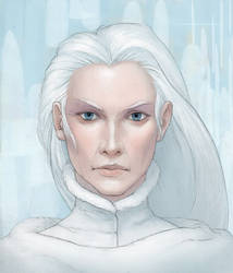 The Snow Queen by Cloverfish