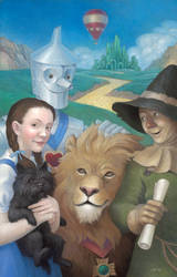 Wizard of Oz poster by Cloverfish