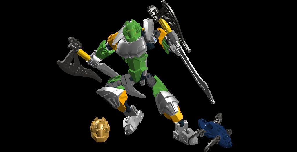 Bionicle Reborn Lewa by DeviantArtistMax