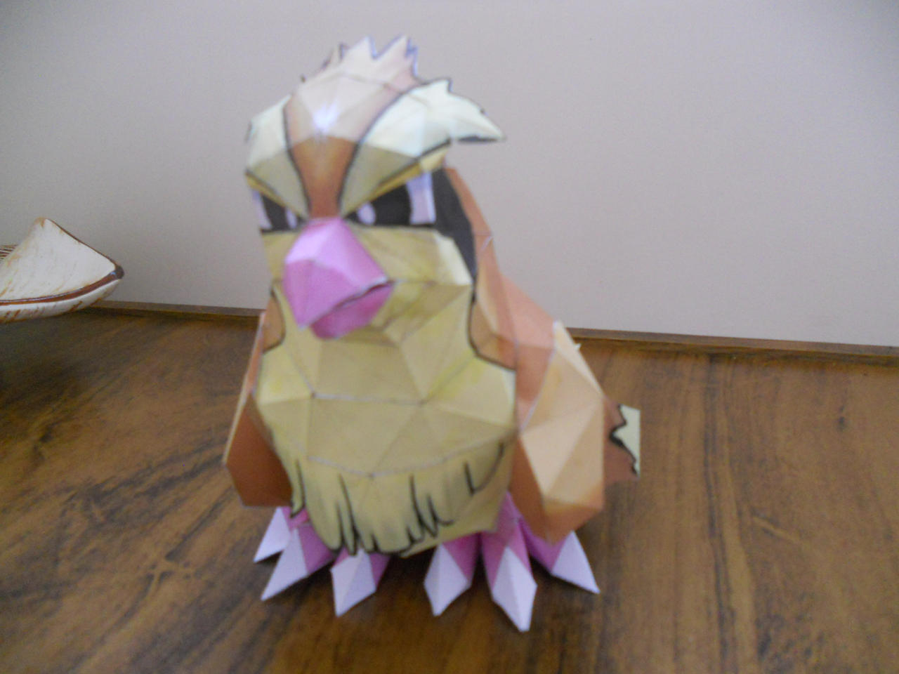 Pokemon Papercraft - Pidgey by Crimson-Flazey
