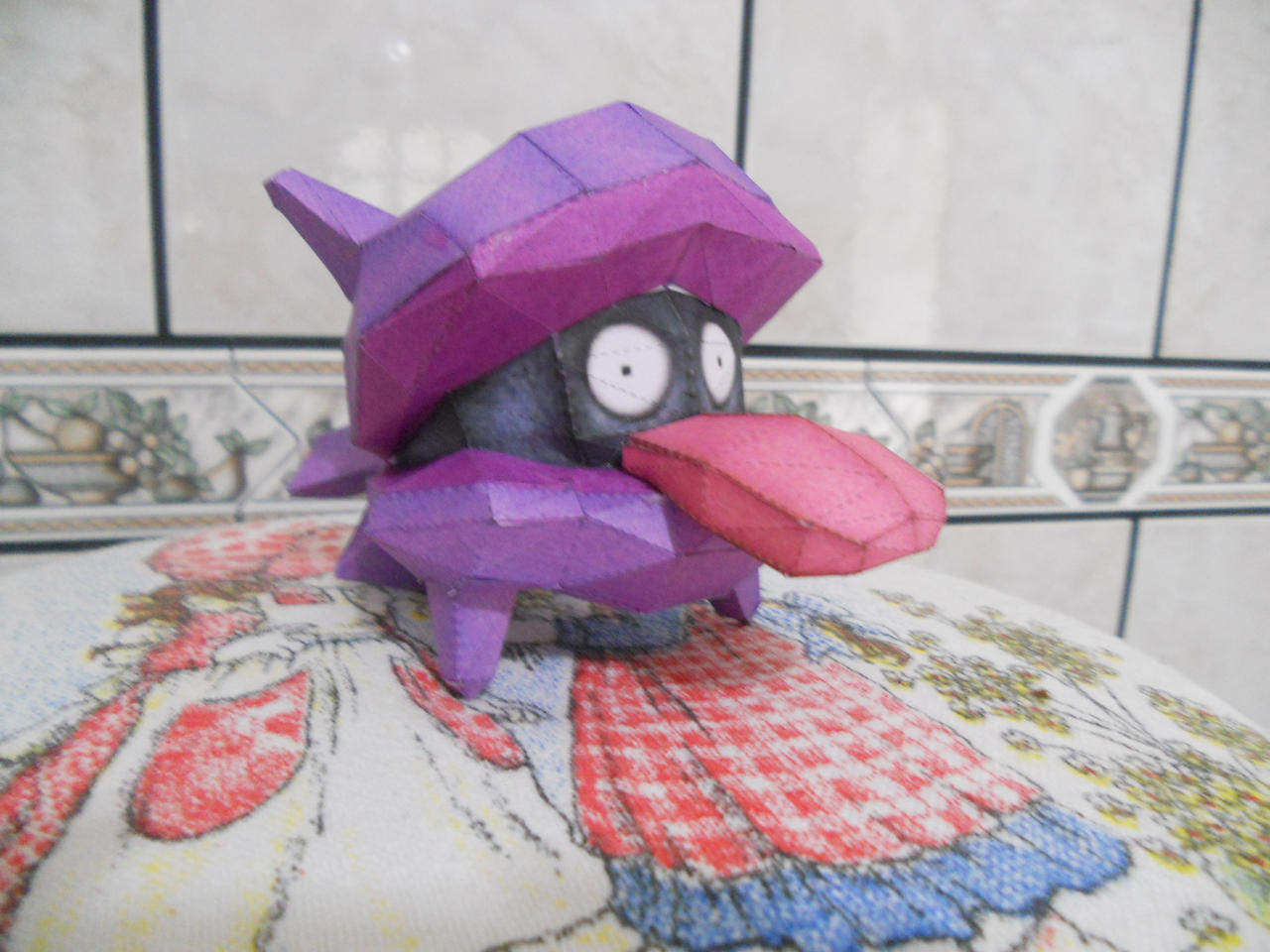 Pokemon Papercraft - Shellder by Crimson-Flazey