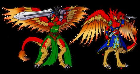 Dracogryphon Siblings