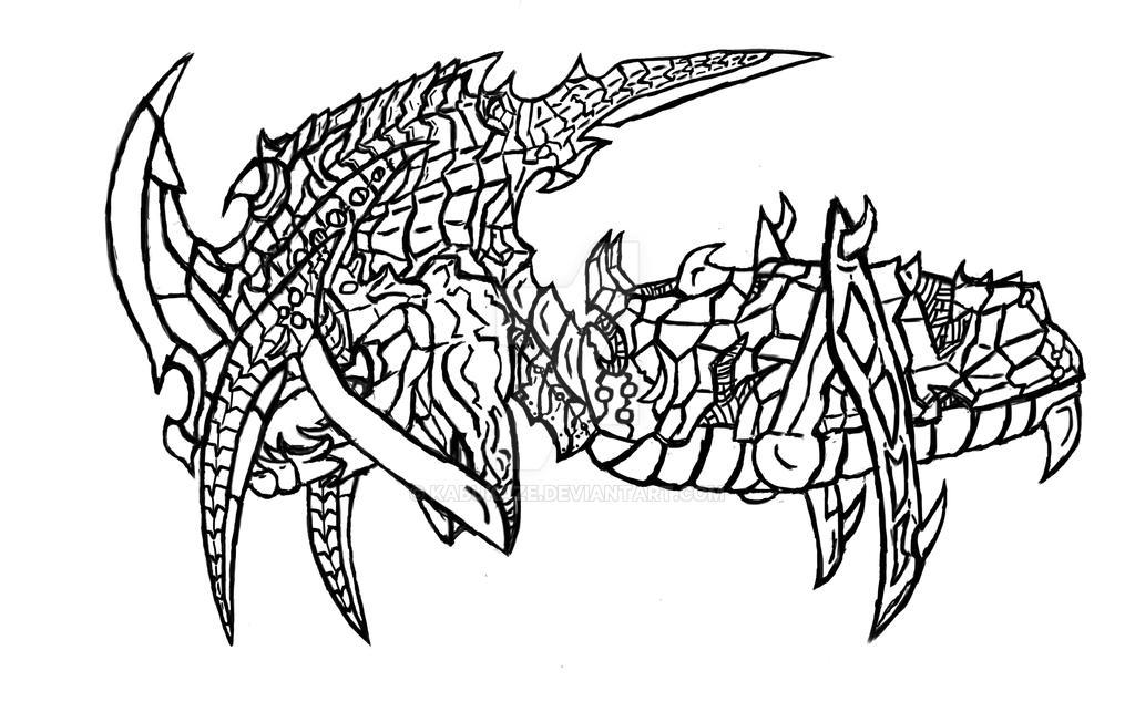 Basilisk Scale Scarab by Kabukaze