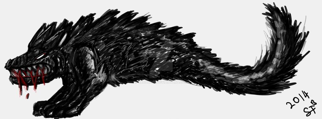 Spirit Wolf by Kabukaze