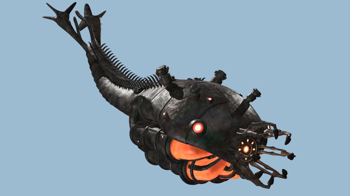 Sentinel Bomb WIP3 by arrghman