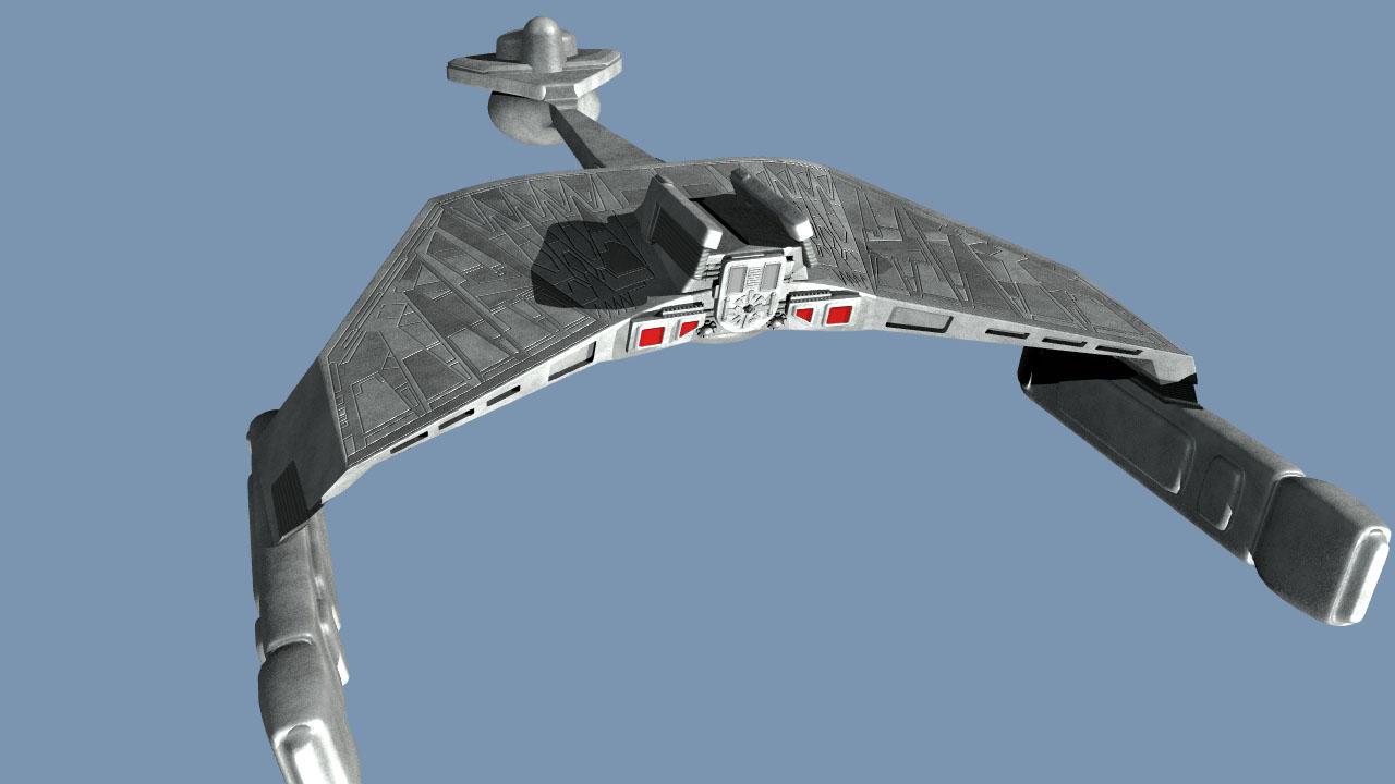 K'tinga Cruiser WIP1 by arrghman