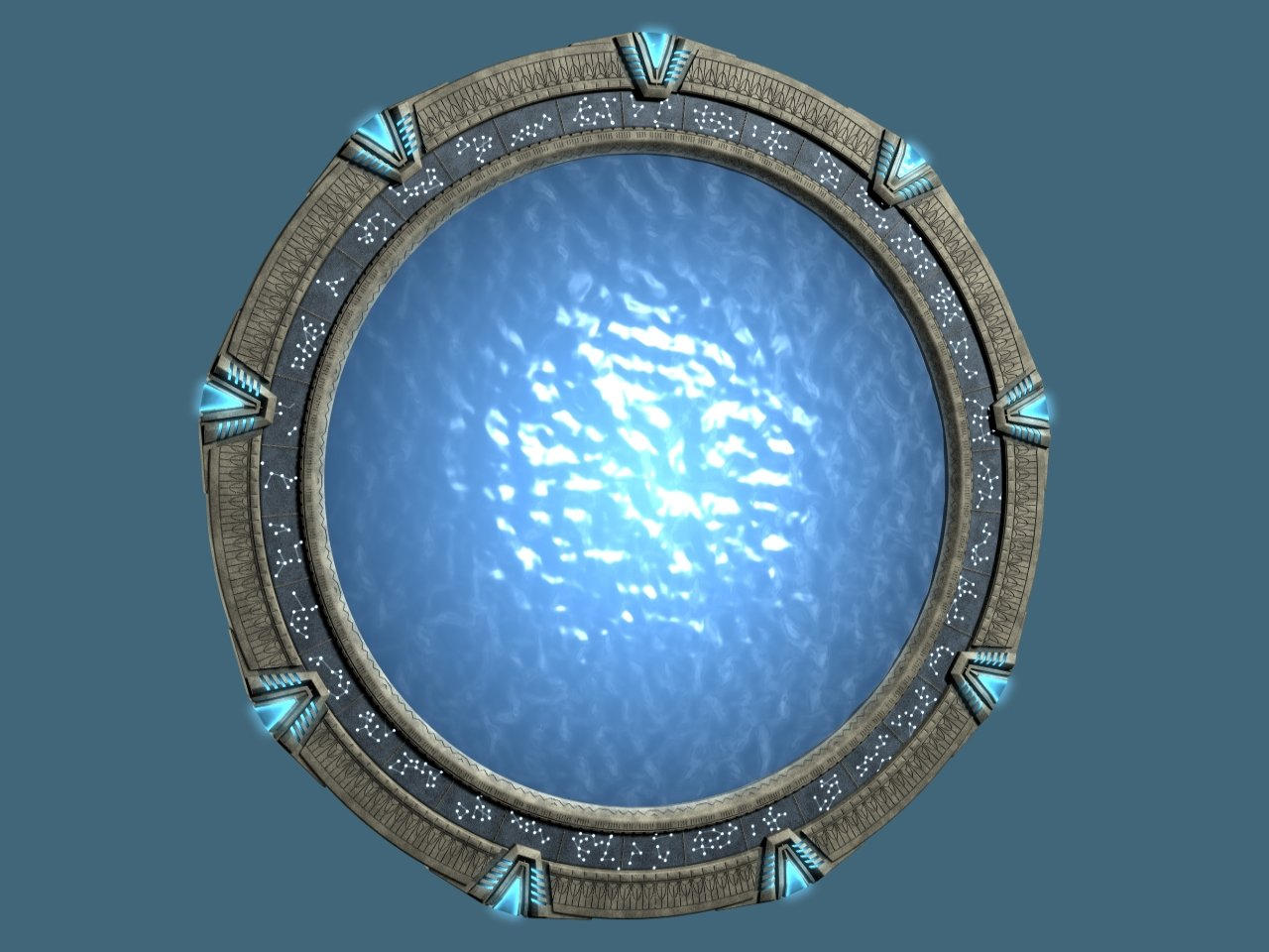 Stargate Atlantis by arrghman